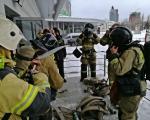 пожарно-тактические учения на Уфа Арена