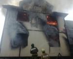 Пожарно-спасательные подразделения ликвидировали пожар в складском помещении по ул. Трамвайная г. Уфы