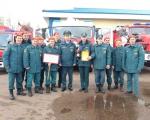 Команда 22 отряда одержала победу  в соревнованиях по  боевому развертыванию среди подразделений ОФПС Республики