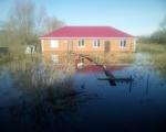 Уровень реки Берсианка в с. Чесноковка поднялся