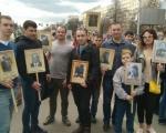 сотрудники 22 отряда приняли участие в  общероссийской гражданско-патриотической акции «Бессмертный полк»