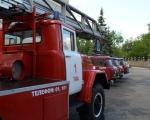 В 22 отряде  пожарная техника проходит ежегодный технический осмотр
