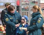 Жители Дёмского района посетили выставку пожарной техники