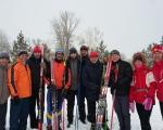 Команда  22 отряда одержала победу в лыжной гонке среди подразделений ОФПС Республики и завоевала второе место в офицерской эстафете