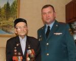 Ветерану ВОВ Каримову Минутдину Габдулловичу 100 лет