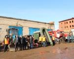 В селе Михайловка состоялся смотр и проверка готовности техники и оборудования во время предстоящего периода весеннего паводка.