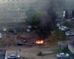 В минувшее воскресенье произошли пожары на транспортных средствах